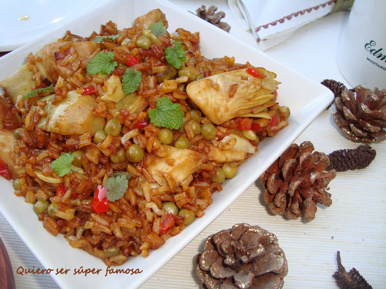 Quiero ser s per famosa arroz frito con vegetales - Como hacer pimientos verdes fritos ...