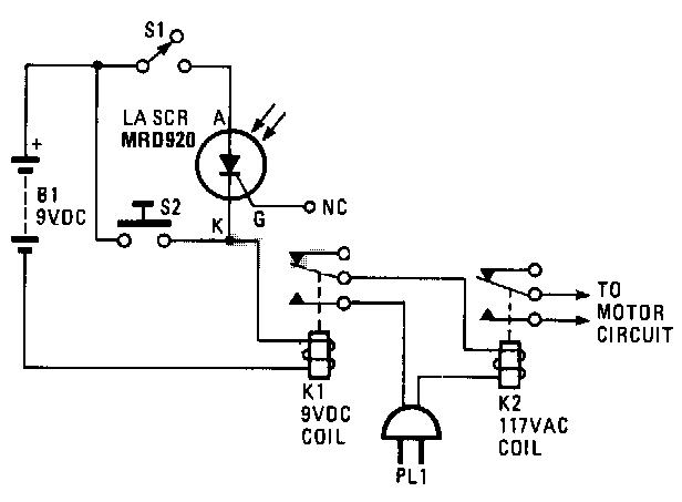 simple fire alarm circuit diagram nonstop electronic circuits