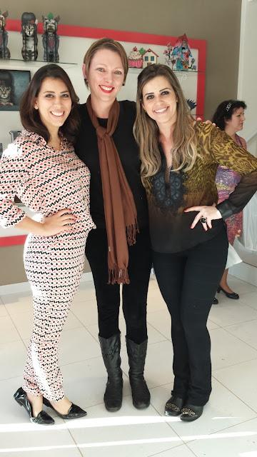 Carol, Edel E Bruna na loja Organon