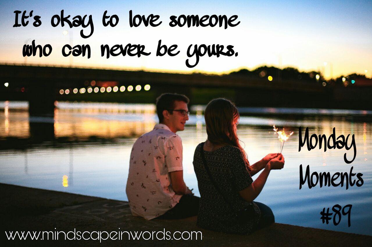 never be in love