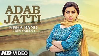 Adab Jatti Lyrics - Nisha Bano | Latest Punjabi Songs 2017 | T-Series