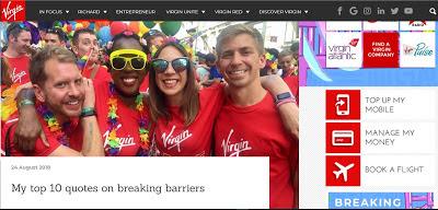 blogging as influencer- Branson blog