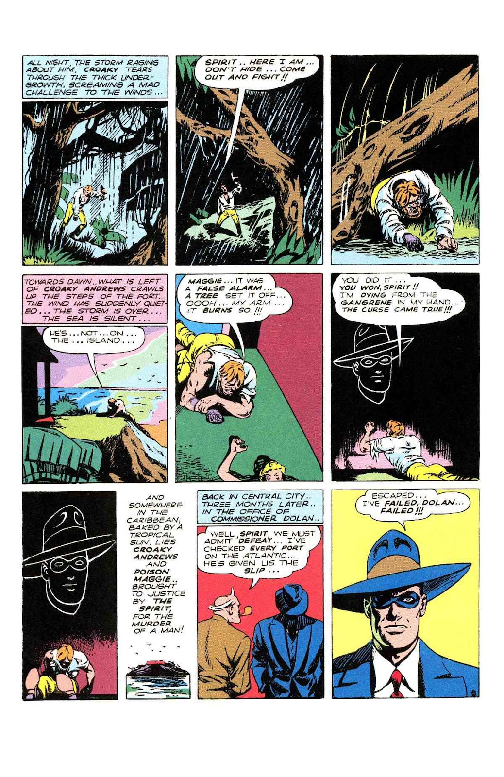 Read online Will Eisner's The Spirit Archives comic -  Issue # TPB 2 (Part 2) - 20
