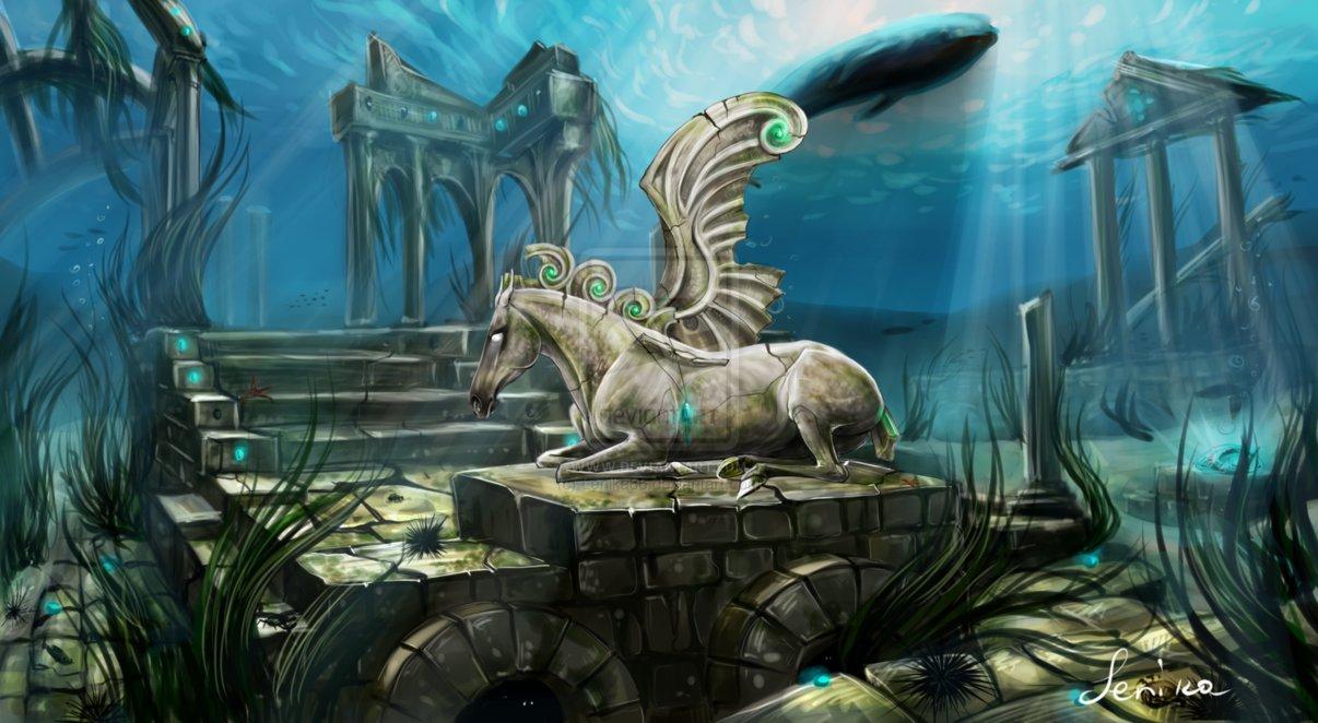 Mystical Creatures In The Fall Wallpaper Dalla Blog O Reino De Atl 194 Ntida Na Imagina 199 195 O De V 193 Rios