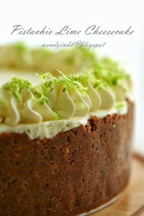 Baked Pistachio Cake