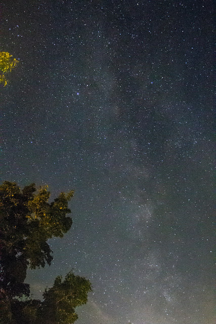 Milky Way from Camp Tecumseh