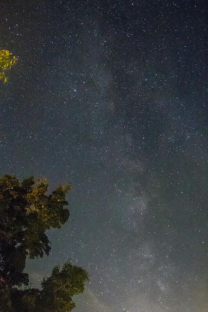 Milky Way from Camp Tecumseh