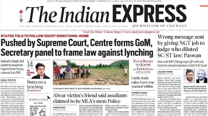 Indian Express Epaper Pdf