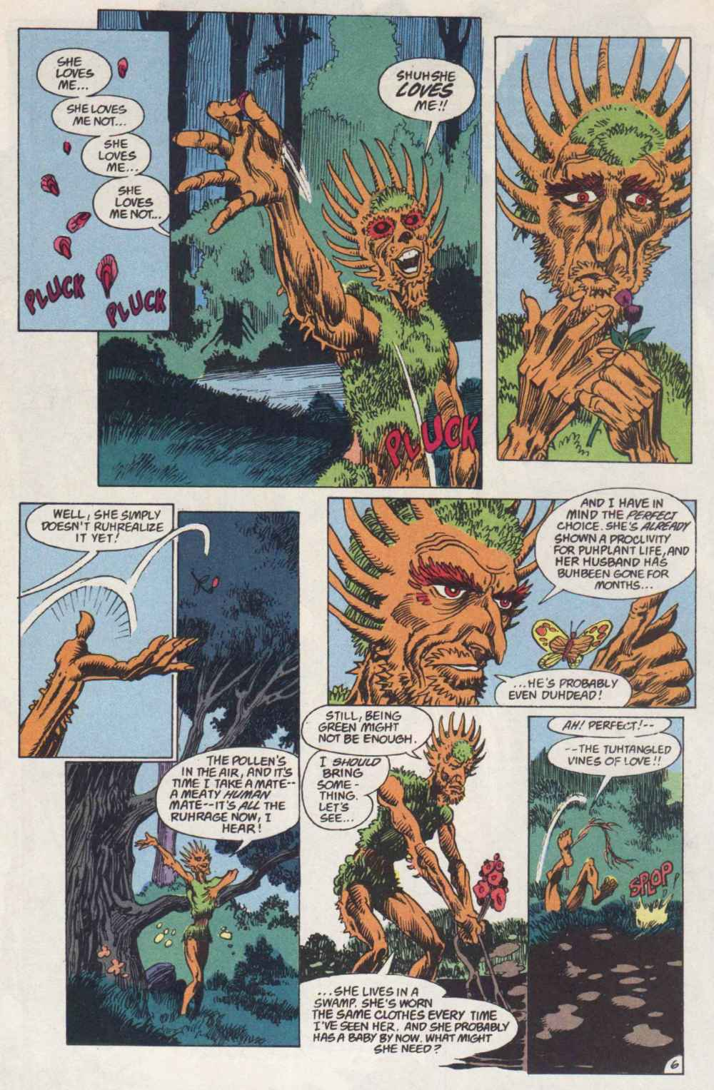 Swamp Thing (1982) Issue #91 #99 - English 6