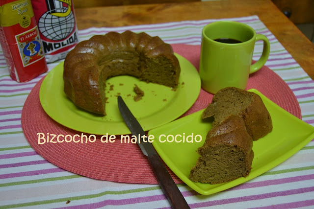 BIZCOCHO DE CAFÉ DE MALTA