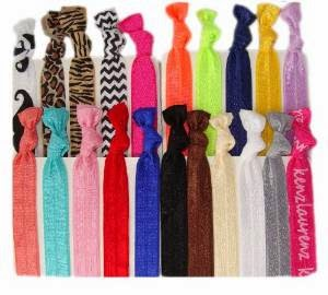 Stylish and durable hair ties for all hair types