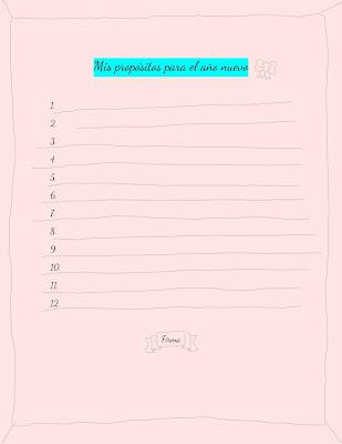 imprimible propositos año nuevo