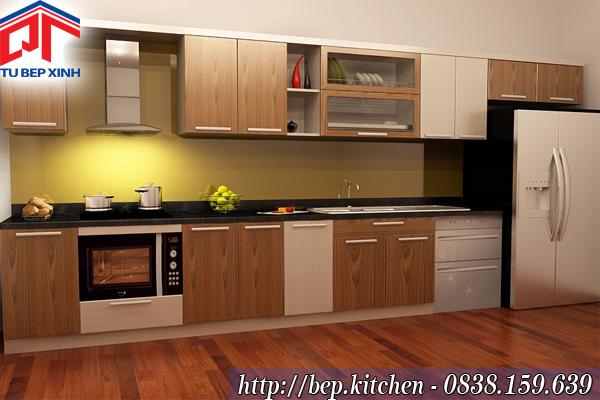 Tủ bếp gỗ MFC TL3