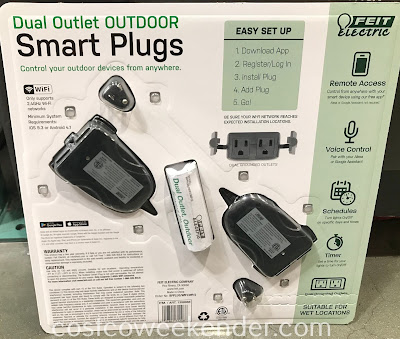 Costco 1358986 - Feit Electric Dual Outlet Outdoor Smart Plug: great for any 21st century home