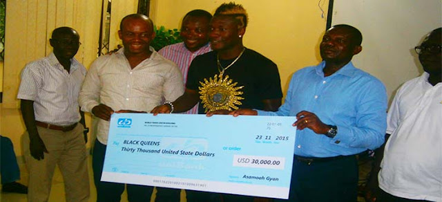 Asamoah Gyan spends over $340,000 on philanthropic projects in 2015