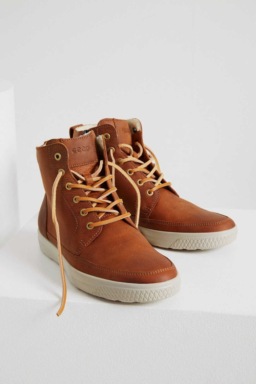 Ecco Shoes For Men Orthopedic With Belcro