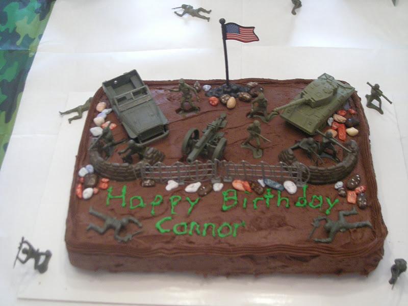 Army Birthday Cake Cutting
