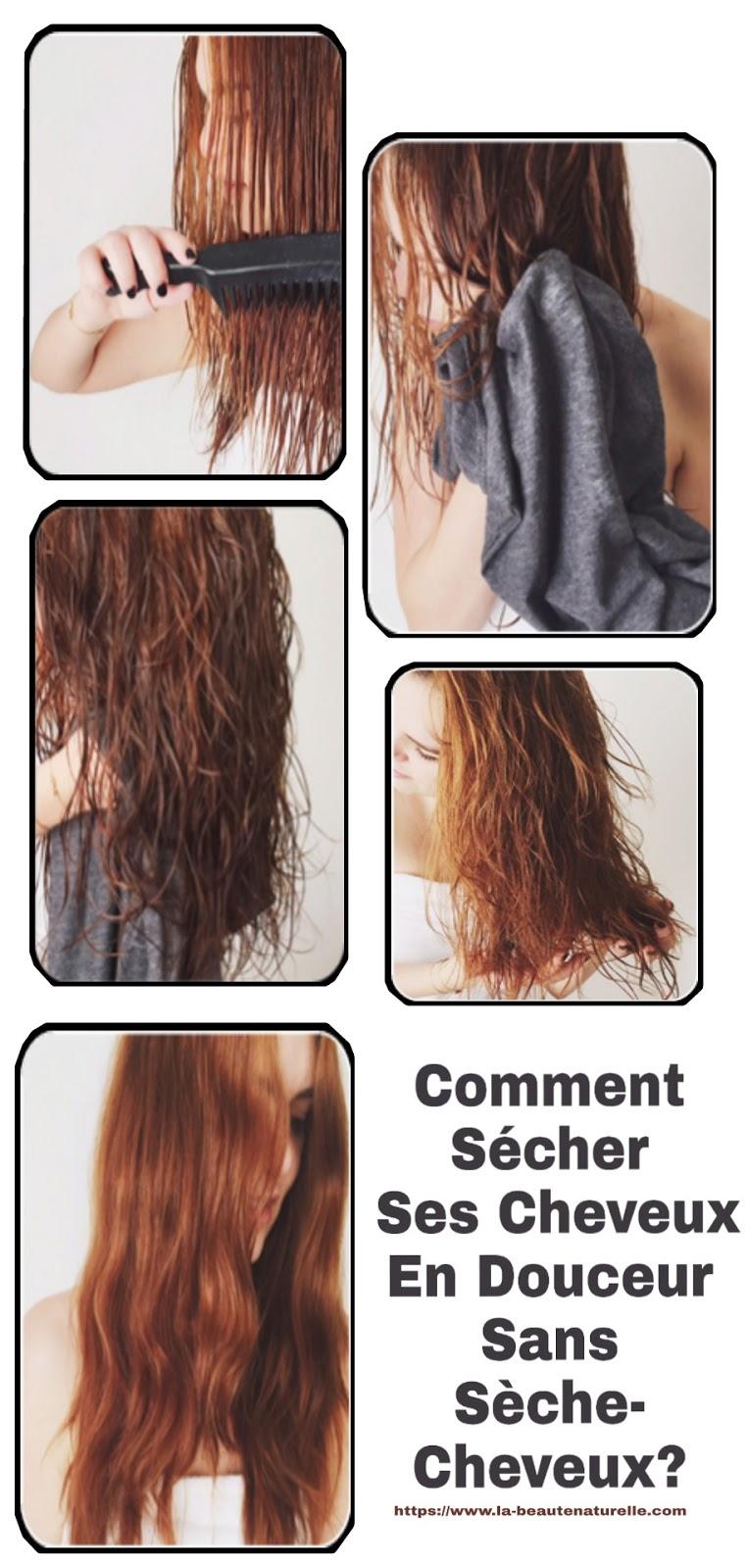 Comment Sécher Ses Cheveux En Douceur Sans Sèche-Cheveux?