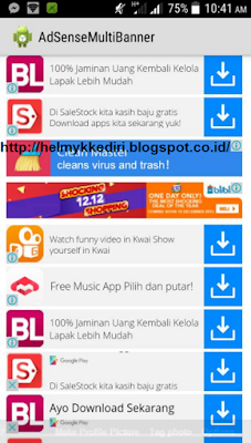 Download Aplikasi Adsense MultiBanner Gratis