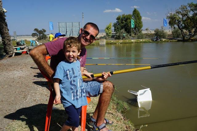 דייג משפחתי - פארק הדייג