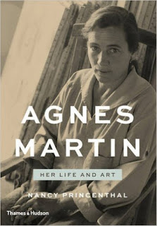 http://www.amazon.com/Agnes-Martin-Her-Life-Art/dp/0500093903/ref=sr_1_1?s=books&ie=UTF8&qid=1454536195&sr=1-1&keywords=agnes+martin+her+life+and+art