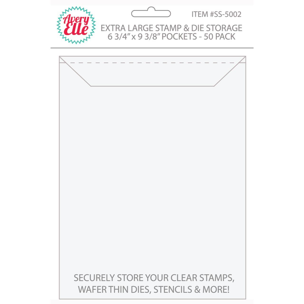 Avery Elle Stamp & Die Storage Pockets XL