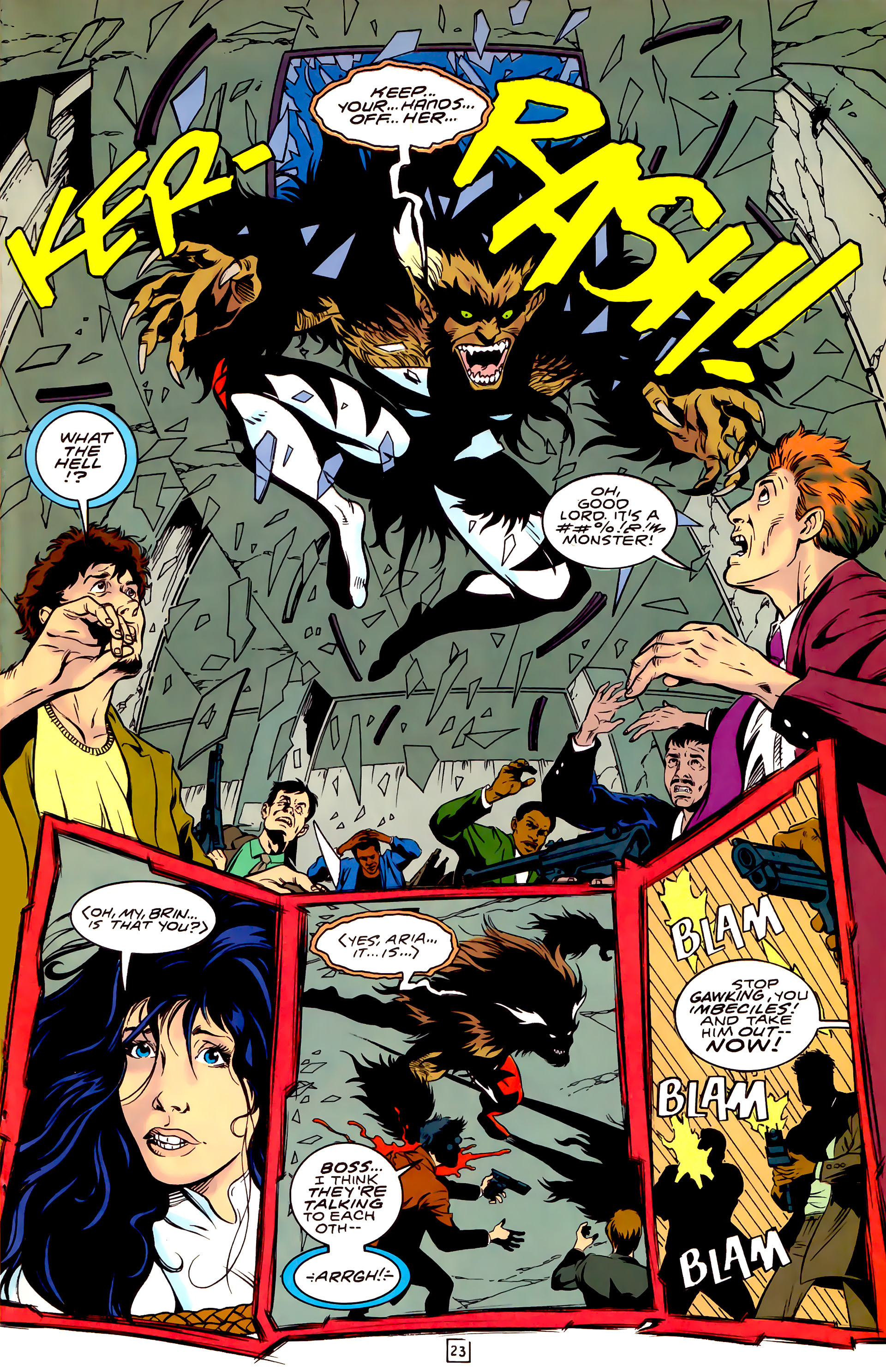 Legion of Super-Heroes (1989) _Annual_3 Page 23