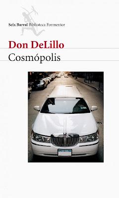 """Libro """"Cosmópolis"""", Don Delillo"""
