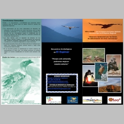 Itinerario Ambiental por las Áreas  de Alimentación de Aves Carroñeras