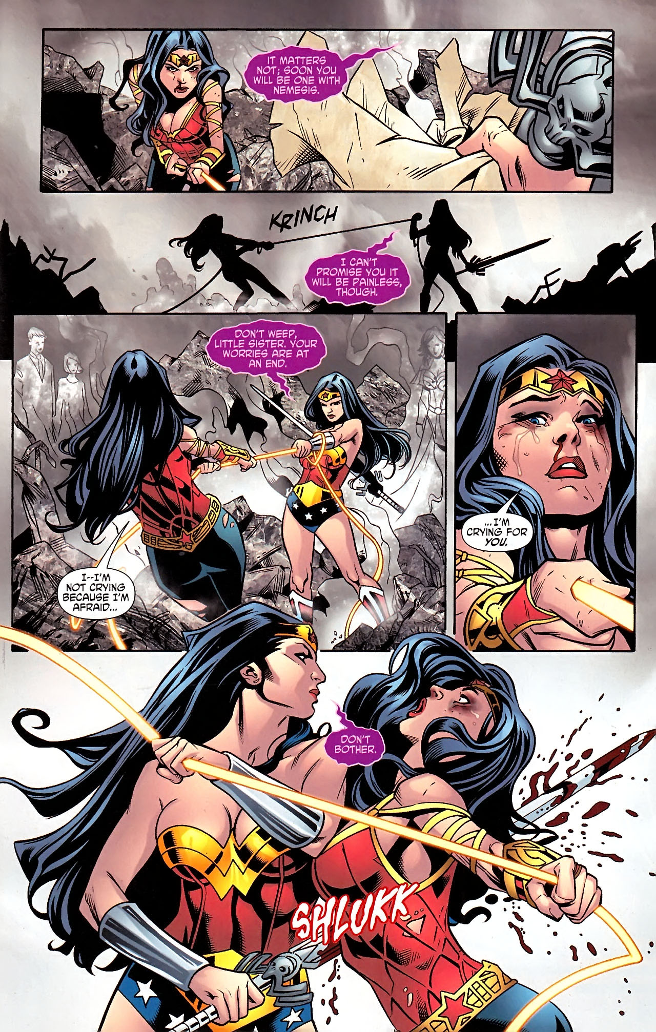 Read online Wonder Woman (2006) comic -  Issue #613 - 17