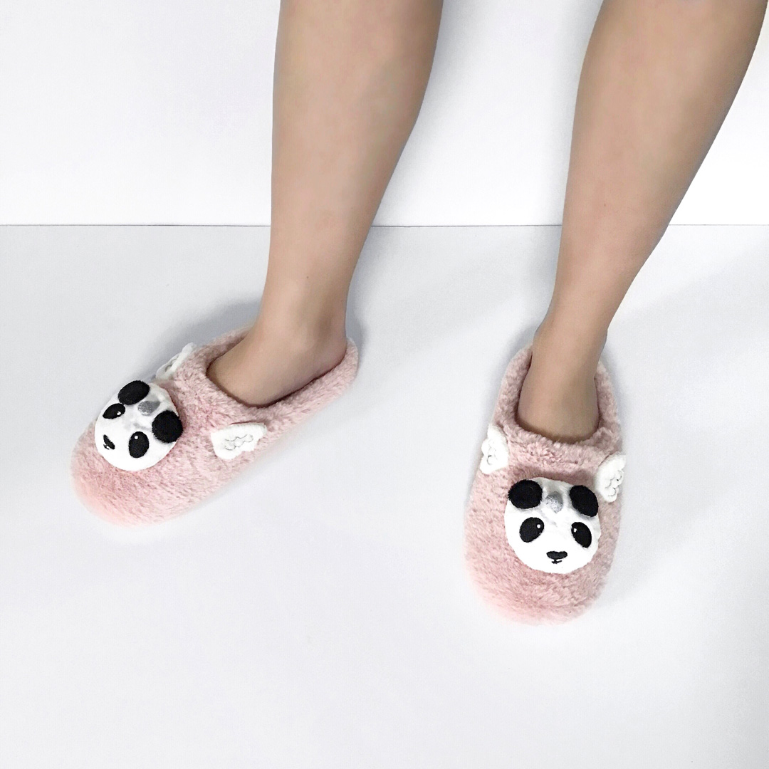 Pandicorn, panda, slippers, oysho, unicorn, pink