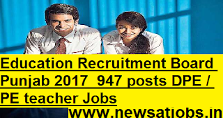 Education-Recruitment-Board-Punjab-947-DPE-PE-post