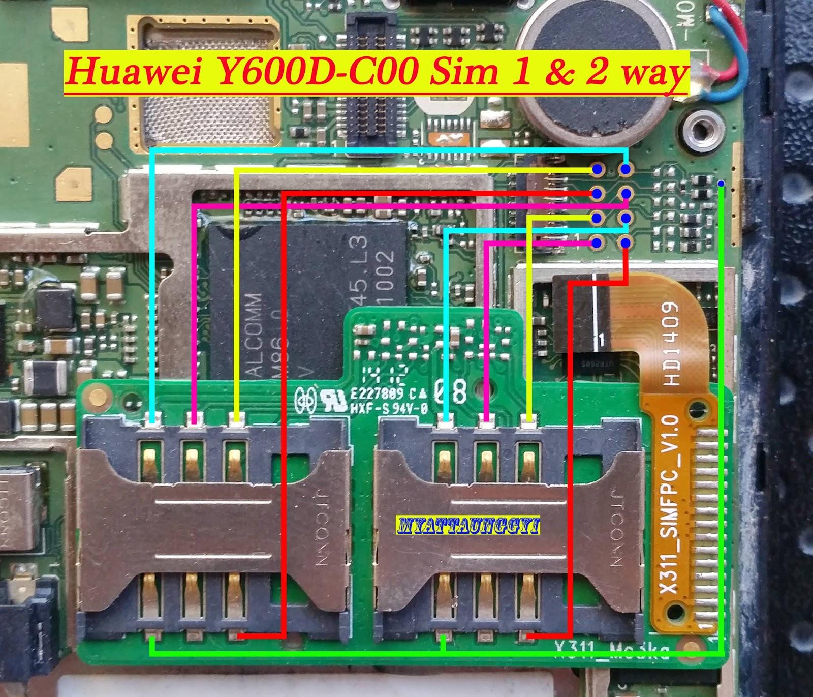 Huawei G6C00 Jumper way