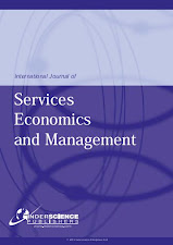 international journal of services, economics and management