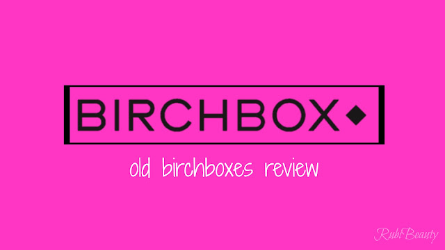birchbox logo review caja mensual opinion