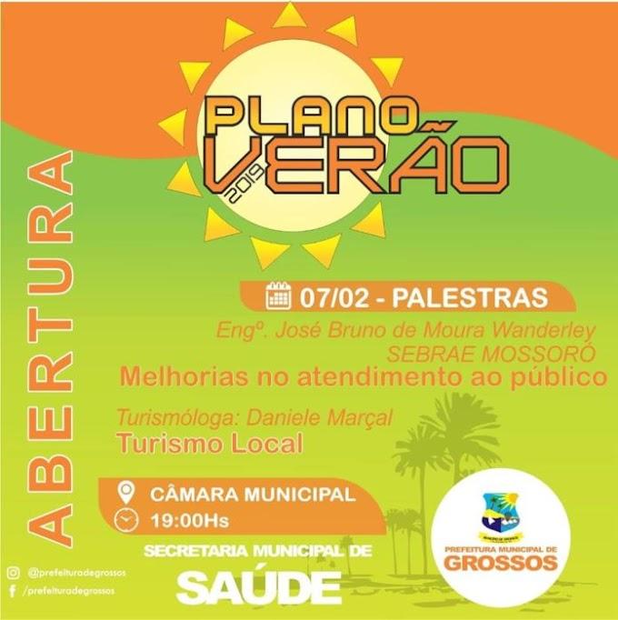 'Plano Verão' inicia nesta quinta-feira com capacitações sobre atendimento ao público e turismo