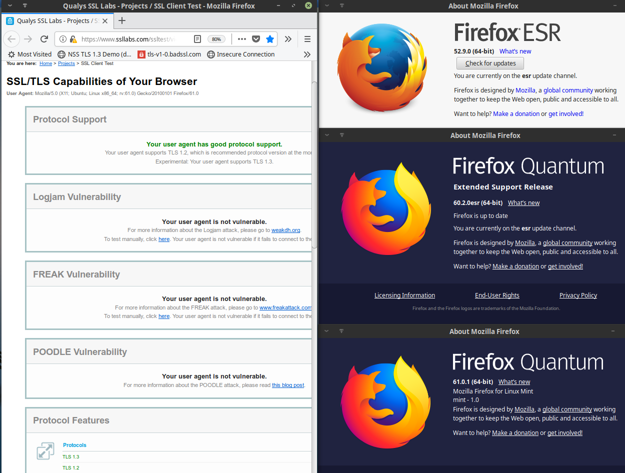 Current Matters: Firefox ESR 52 : End of Support Life and