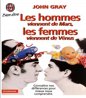 Les hommes viennent de Mars, les femmes viennent de Vénus en PDF