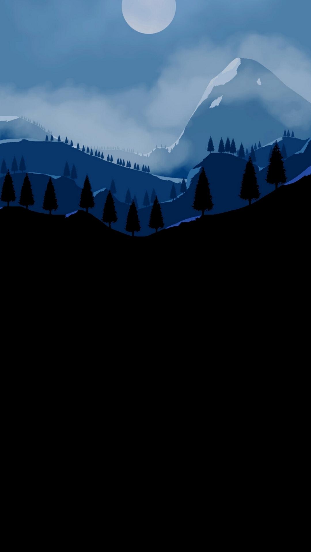 black wallpaper 1080 x 1920 pixels