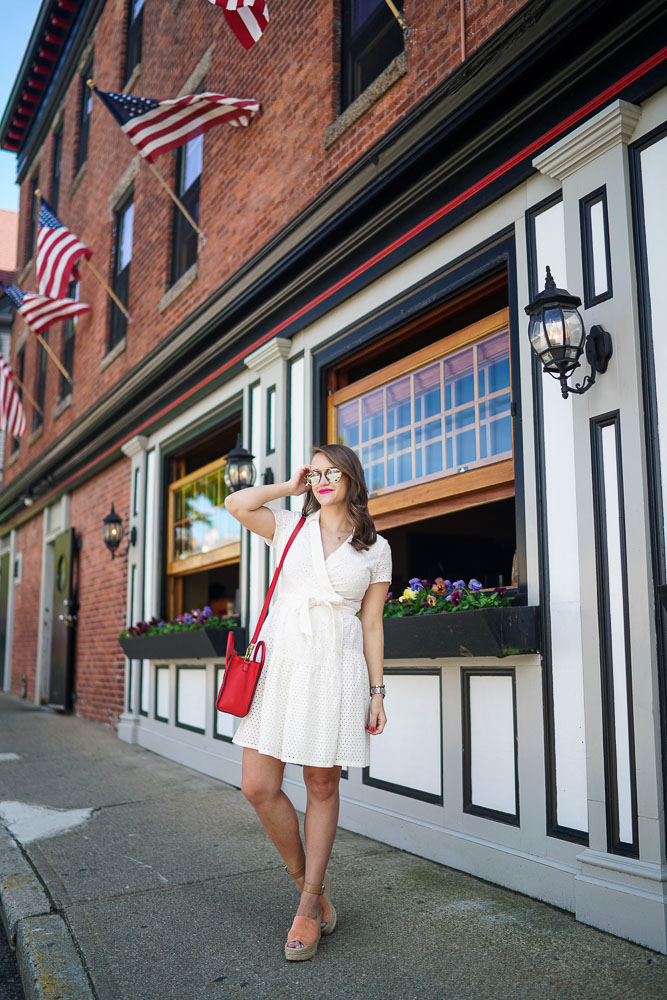 Krista Robertson, Covering the Bases,Travel Blog, NYC Blog, Preppy Blog, Style, Dove Beauty, Fashion, Fashion Blog, Weekend Getaways, Weekend Trips, Travel, Summer Dresses, Summer Must Haves, DVF, Newport, Rhode Island, East Coast Travel