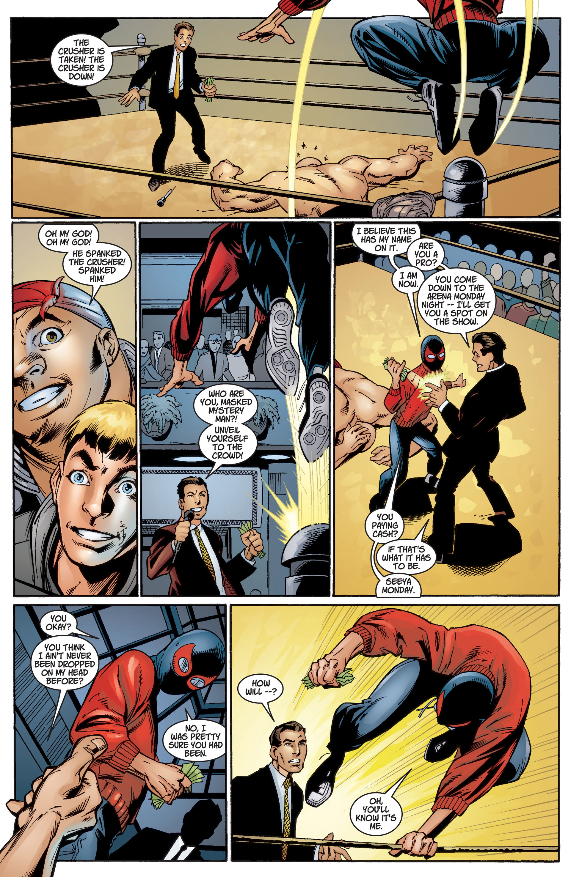 Read online Ultimate Spider-Man (2000) comic -  Issue #3 - 11