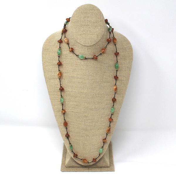 Shop Wholesale Linen Necklace Display Bust at Nile Corp