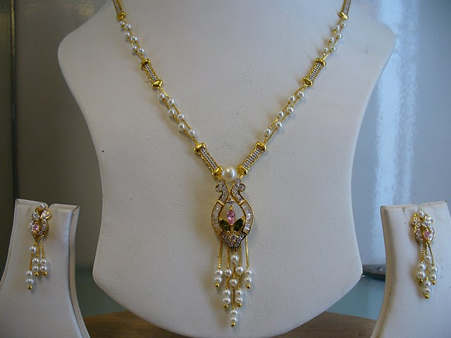 Gold Wedding Rings Indian Gold Necklace With Pearls