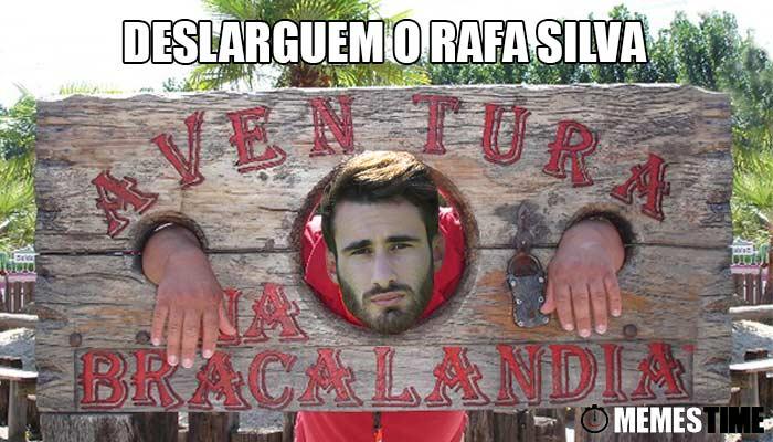 """Memes Time Rafa Silva a caminha da Luz? – """"Deslarguem"""" o Rafa Silva"""