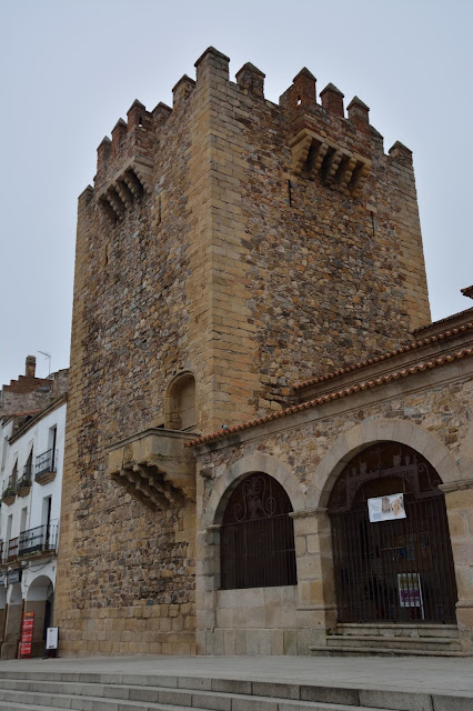 Cáceres torre de Bujaco