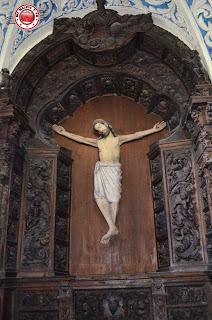 Cristo de la Ermita de San Saturio, Soria, España