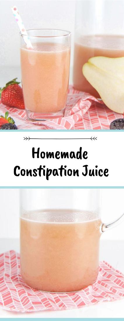 Homemade Constipation Juice #healthydrink #easyrecipe