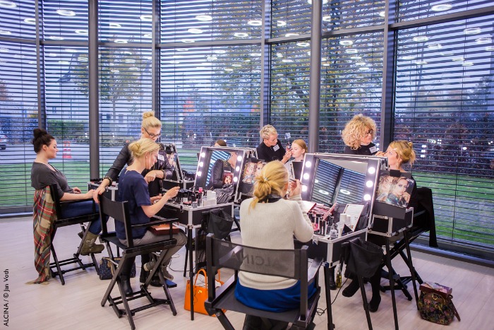 ALCINA Makeup Beauty Event - Schminkaktion