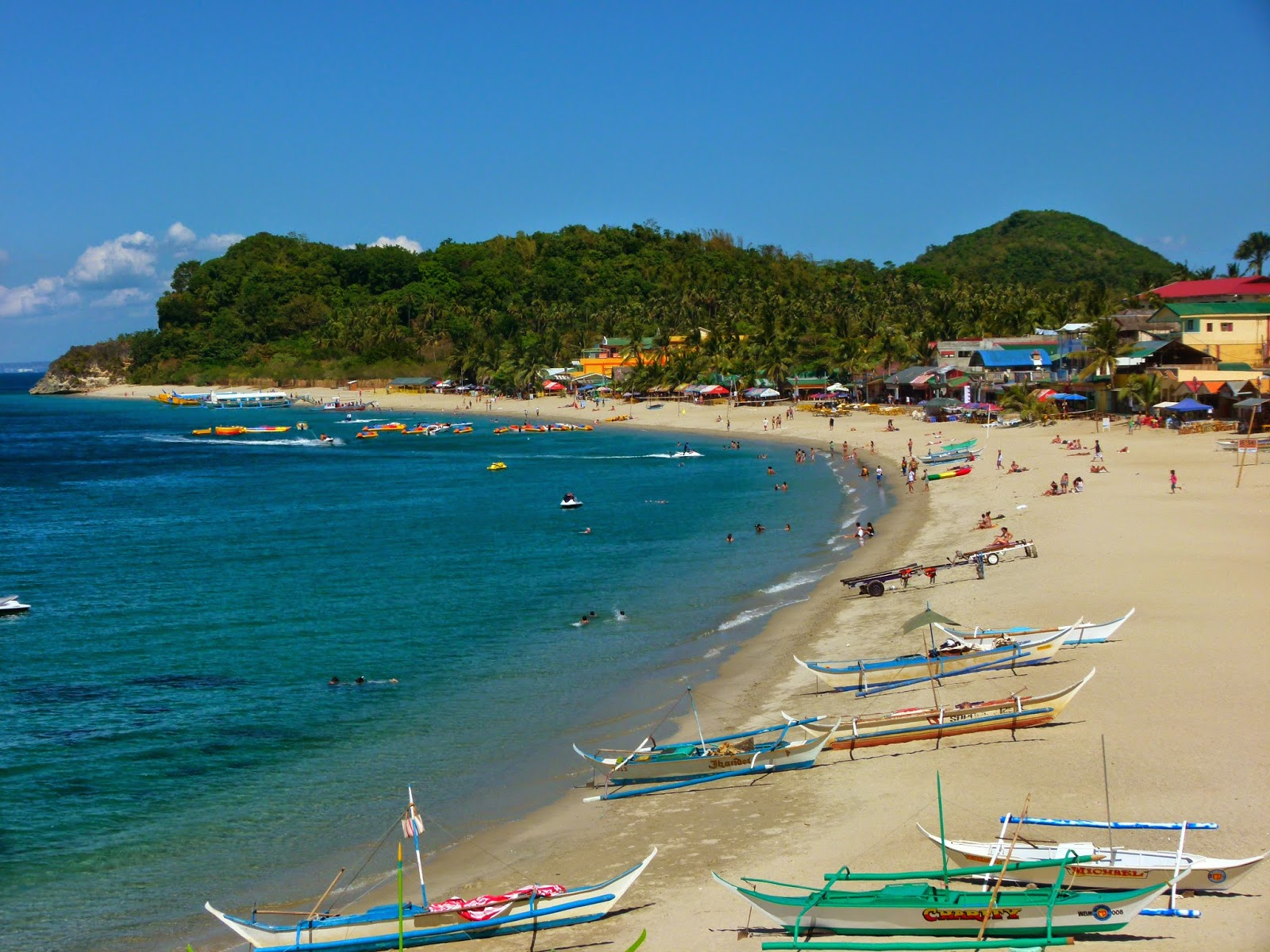 The Only Bay In Philippines Listed By Club Of Most Beautiful Bays World Famed White Beach Puerto Galera Is Indeed A Must