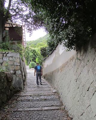 鞆の浦の坂道